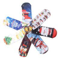 Wholesale 12 Pairs Christmas Socks - 3D Print Cute Santa Claus Snowman Elk Socks Women Grils Low Cut Christmas Socks Harajuku Boat Sock 500 Pairs OOA3404