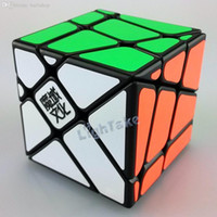 Wholesale Fisher Cube - Wholesale-2015 Brand New YongJun YJ Moyu Crazy YiLeng Fisher Cube 3x3x3 Gear Cube Speed Puzzle Cubes Educational Toy Special Toys