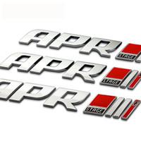 emblema rs4 venda por atacado-Car Chrome Emblema Do Emblema Do Metal APR Stage II + Genuine parte GTI Golf mk6 mk7 / Emblema Para Audi VW VOLKSWAGEN b5 b6 RS4 RS6 ...