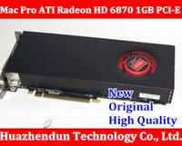 Wholesale Ati Radeon Hd 1gb - Wholesale-100% High QualityMac Pro ATI Radeon HD 6870 1GB PCI-E Video Card macpro high -end graphic card 2GEN