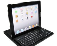 Atacado-Novo Bluetooth Wireless Keyboard 360 Rotatable Caso titular para Apple iPad