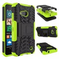 fälle für lumia großhandel-für Microsoft Lumia 550 Asend P9 Y3 II Y5 II HONOR 7 8 5C Dazzle Hybrid KickStand Impact Robuste Heavy Duty TPU + PC Shock Proof Fall Abdeckung 50