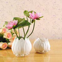 Cheap Stylish Home Furnishings Small Ceramic Vase Ornaments Home Decor Creative Flower Flowers Into Simple