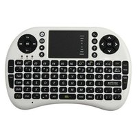 portátil touch pad al por mayor-Teclado mayor-Mini inalámbrica de 2,4 GHz Air Mouse Inglés teclado de control remoto de la almohadilla táctil para Android TV Box Notebook Tablet PC portátil