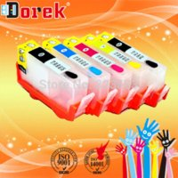 Wholesale Photosmart Cartridge - free shipping For HP 178 HP178 Refill ink cartridge for HP Photosmart 5510 5515 6510   B110a B209a  printer with Reset chip