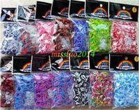 Wholesale Tie Dye Camo Loom Bands - Wholesale - Rainbow Bands loom Camo Tie-dyed Rainbow Loom Bands ( 600 P + 24S) DIY Bracelets Loom Rainbow Rubber bands MOQ 500bag