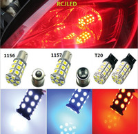 online Shopping Red Led Brake Turn 1157 - Bright Red 27SMD 5050 LED 1157 BAY15D T-25 Car Reverse Turn Signal Tail Brake Light Bulb Lamp 7528 3496