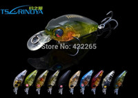 Wholesale Little Fishes Fishing Bait - Free shipping Trulinoya mini little crank lure DW24 35mm 3.5g  1.2m horses mouth way artificial lure hard bait plastic fish