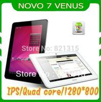 Wholesale Ainol Novo Tablet Venus - Wholesale-freeshipping Ainol Novo 7 Venus,Novo 7 Myth, 7 Inch IPS Quad core Cortex A9 Family 1.5GHZ Android 4.1 1GB 16GB tablet pc
