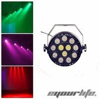 Wholesale Mini Luces - Wholesale-Eyourlife Led Par Disco DMX Music Dj flat stage Light luces discoteca party rgbw luz de lumiere controller Mini Laser Projector