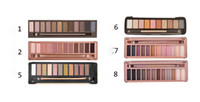 Wholesale Eye Shadow Palette Nude - HOT New Makeup Eye Shadow Nude 1 2 3 5 6 7 8 12Colors Eyeshadow Palette High Quality