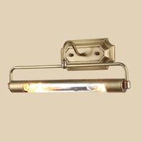 ICOCO LED Spiegellampe mit Schalter Bad Spiegelleuchte Wandleuchte dU