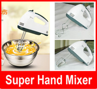 Wholesale Egg Beat - New super hand mixer Still moving authentic special mini -power hand-held electric mixer beat eggs household Whisk