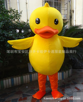 Wholesale Duck Costume Outfit Mascot - High quality duck Mascot Costume EPE Fancy Dress Outfit Adult mascot costume Xmas Gift