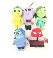 Wholesale Pixar Plush - 2015 Pixar Movie Inside out Pixar Children Stuffed Plush Toy Joy Anger Disgust Sadness Fear Plush Doll for kids gift
