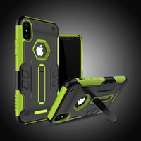 Wholesale Covers For I Phone - Anti-Knock Case for iPhone X Cover,Hybrid Kickstand Cell Phone Cover for Apple iPhone X Case for i Phone X Phone Cases