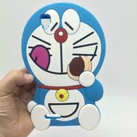 doraemon telefonlar toptan satış-Güzel Karikatür Doraemon yumuşak silikon Telefon Kılıfı Için OPPO A53 oppo A53m için kapak 5.5 inç