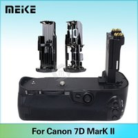 Wholesale Eos 7d Grip - Meike MK-7D II Battery Grip for Canon EOS 7D Mark II 7D2 as BG-E16