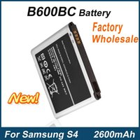 Wholesale Galaxy S4 Price - For Samsung Galaxy S4 i9500 i9505 i9295 Mobile Phone B600BC Battery Factory Price Fast Delivery