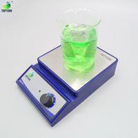 Wholesale magnetic mixer - TOPTION MS-PC Machine Magnetic Liquid Mixer Laboratory Stirrer Lab Magnetic Stirrer Mixer With Stir Bar Laboratory Industrial Liquid Stirrer