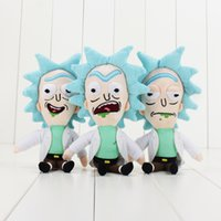 Q versione 23cm Rick e morty Rick Sanchez Morty Smith Mr Meeseeks Happy Angry Bored Beth Jerry giocattoli di peluche ripiene