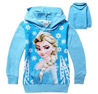 Wholesale Children Fleece Hoodies - 2015 the spring and autumn period and the new children's clothing wholesale Girls hoodies Pure cotton fleece children BH1143