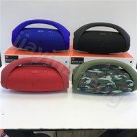 Wholesale Boom Speakers - Booms Box Bluetooth Speakers Wireless Portables Deed Sound Speaker USB TF Card Mini Bluetooth Speaker Free Shipping DHL