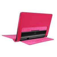 caja del folio de la tableta del yoga al por mayor-Funda de cuero PU para Lenovo YOGA Tablet 3 10 Pro Funda de cuero