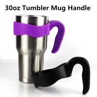 Wholesale Insulated Cup Holders - Universal Standard Multicolor Cup Holders For 30oz Coffee cup Stainless Steel Insulated Tumbler Mug Handle CPH003