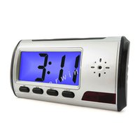 Wholesale Mini HD Camcorder Alarm Clock Video Motion DV Cam DVR Digital Video Recorder Remote Control