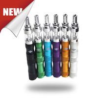 v2 e sigara pilleri toptan satış-2015 KTS X6 Ecig Ecab V2 Başlangıç kiti Değişken Gerilim 1300 MAH Pil X6 Atomizer E Sigara Buharlaştırıcı Kalem Balmumu DHL Ücretsiz