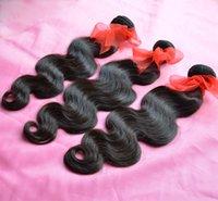insan saçı filipino toptan satış-Filipinli Bakire Saç Vücut Dalga Dalgalı Işlenmemiş 7A Brezilyalı Perulu Malezya Hint Kamboçyalı İnsan Saç Dokuma 3/4/5 Demetleri Doğal Renk
