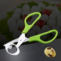Wholesale clean shells online - Quail Eggs Shells Scissors Household Kitchen Cooking Tool For Stainless Steel Egg Opener Easy To Clean jd C
