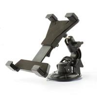 Wholesale Car Inch Gps Holder - cradle New 7 8 9 10 inch Tablet Holder Universal soporte tablet desktop Windshield Car mount cradle For iPad Stand