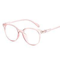 ingrosso occhiali da vista rosa-Occhiali corti di moda coreana cornice anti blu luce occhiali donne occhiali falsi occhiali ottici rosa cornice trasparente oculos