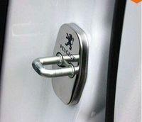 Wholesale peugeot door locks - Peugeot 308 408 508 307 3008 207 RCZ Citroen C4 Picasso C4L DS4 DS3 DS5 C5,C2 Door lock cover Anti-corrosive 4 pcs lot