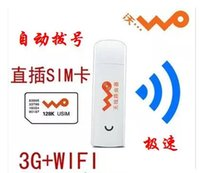 Wholesale Pocket Modem Wifi Router - Pocket Mobile Mifi Dongle Mini Wireless USB Hotspot 3G WiFi Modem Router with SIM Card Slot