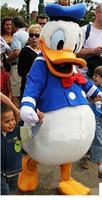 Wholesale Duck Cartoon Costume - Professional Cartoon,Donald Duck CARTOON MASCOT COSTUME SUIT,ADULT SIZE