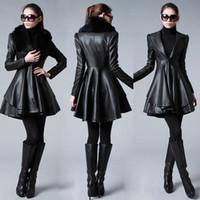 Wholesale Black Leather Jacket Women - Buy Cheap Black Leather ...