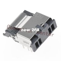 Wholesale Angle Plug Electrical - Mini Multi-Lane Connector For 3M 36Pin Surface Mount Right Angle Original 8AB36-2220-LJ-PR MiniSAS Connector
