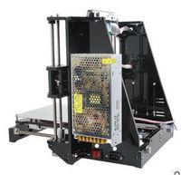 Wholesale mk8 extruder - Reprap Stampante 3D Printer Hot Sale 3d Prusa i3 Full Acrylic Frame MK8 Extruder LCD2004 of 2016