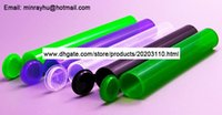 Wholesale plastic storage tubes - 1200 Pack 98 mm Doob blunt Joint tubes ,Airtight WaterProof Odor Proof Storage Container Tubes Empty Squeeze Pop Top FEDEX Free Shipping
