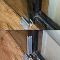 3m frameless shower door bottom seal 118 in long frameless glass door seal strips for