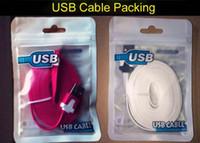 cabo usb cabo de macarrão colorido venda por atacado-Micro usb cabo 3 m 10ft 2 m 6ft 1 m 3ft macarrão flat cabo usb cabo de carregamento linha carregador colorido linha de cabo v8 samsung