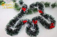 Wholesale Christmas Tree Ornaments Wholesale China - christmas tree decoration strip decoration garland ribbon Christmas decoration E-packet and China post christmas ornaments CR0012 P