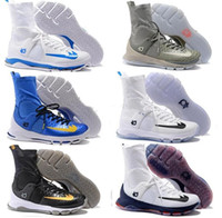 Wholesale Kevin Durant Shoes Colors - 2016 New Colors Kevin KD 8 Elite Men's Basketball Shoes for Top quality Wolf Durant VIII Retro playoff Sports Training Sneakers Size 7-12