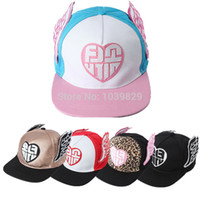 Wholesale Promotional Snapback Hats - Promotional New Women Girls Color Wings SONE I GOT A BOY SNSD Hat KPOP Caps Snapback Baseball Cap