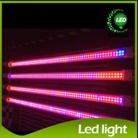 Wholesale T8 Led Grow Tube Lights - 2015 Led Tube Grow Light T5 Tube Grow Lamp 18w 12.7W 120cm T8 LED Plant Grow Light Red+Blue Plant Grow Lamp Light