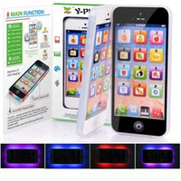 Y Phone English Touch Обучающая машина Игрушка, дети Y-phone Fun Learning Toys, заряжаемая USB, Baby Educational Gift LED Light
