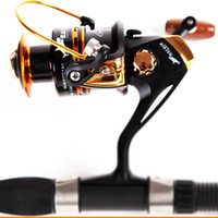 Wholesale Fake Bait Sale - HOT SALE!! Free shipping Spinning fishing reel 13BB 5.5:1 spinning reel casting lure tackle line